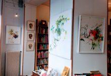 Exposition personnelle à la librairie Les lettres du temps (Paris 13) du 18 mai au 16 juin 2017